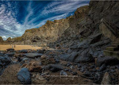Bedruthen Steps Beach