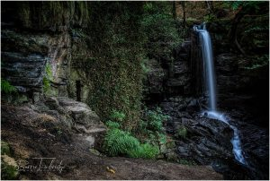 Lumsdale Falls. Matlock Derbyshire